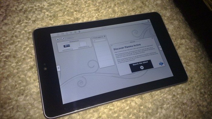 Plasma Active 3 - tablet Nexus 7
