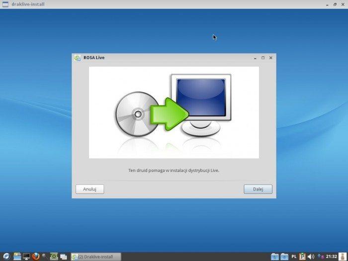 ROSA LXDE 2012 LTS - instalator