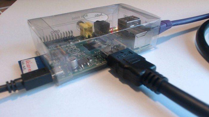 Raspberry Pi obudowa przezroczyta