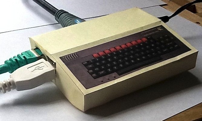 Raspberry Pi obudowa stary komputer