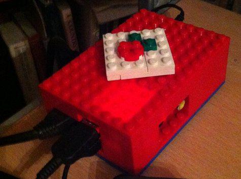 Raspberry Pi obudowa z klocków