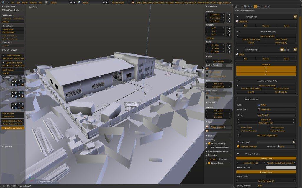 Scs Blender Tools Для Euro Truck Simulator 2 Скачать