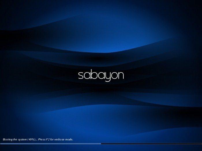 Sabayon - próba ujarzmienia Gentoo - uruchamianie systemu