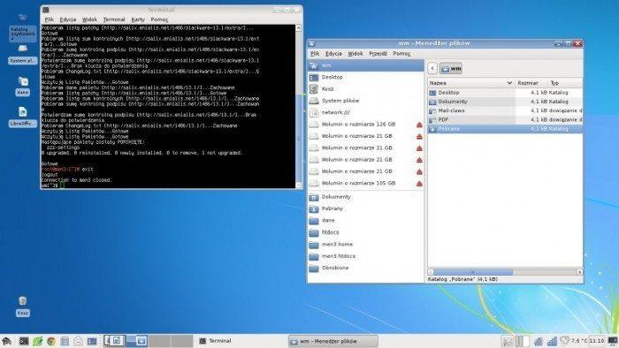 Salix OS – wierzbowa dystrybucja - Pulpit