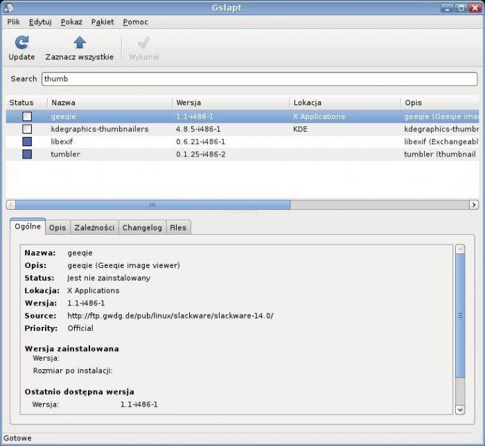 Salix OS – wierzbowa dystrybucja - gslapt