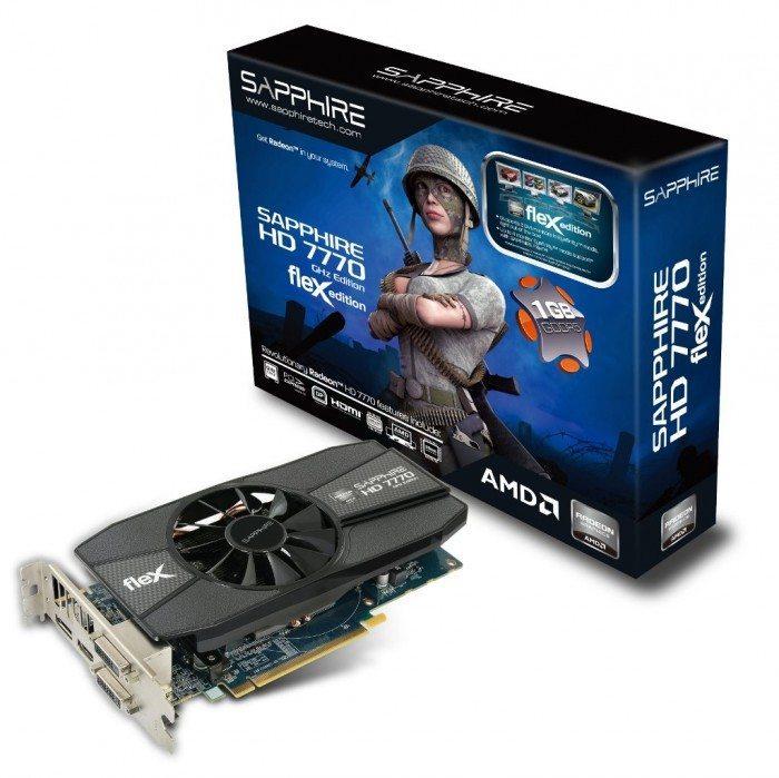 Sapphire Radeon HD 7770 FleX - pudełko