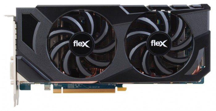 Sapphire Radeon HD 7870 FleX - chłodzenie Dual-X
