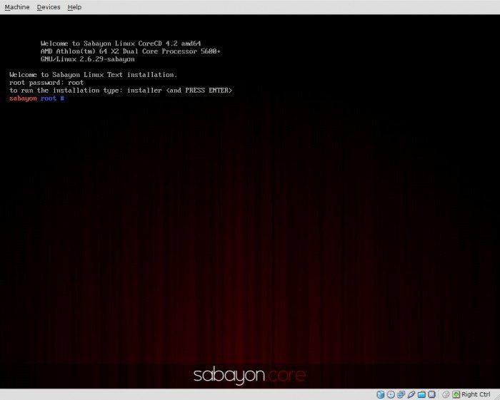 """Sabayon Linux 4.2 """"CoreCD"""""""