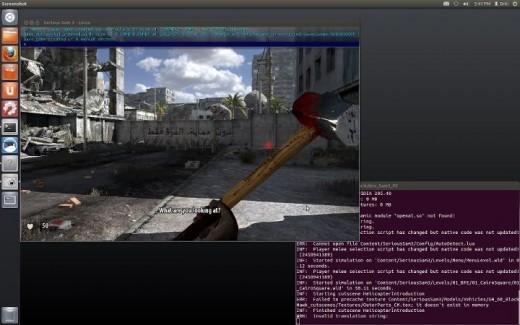 Serious Sam 3 - udane uruchomienie na Ubuntu