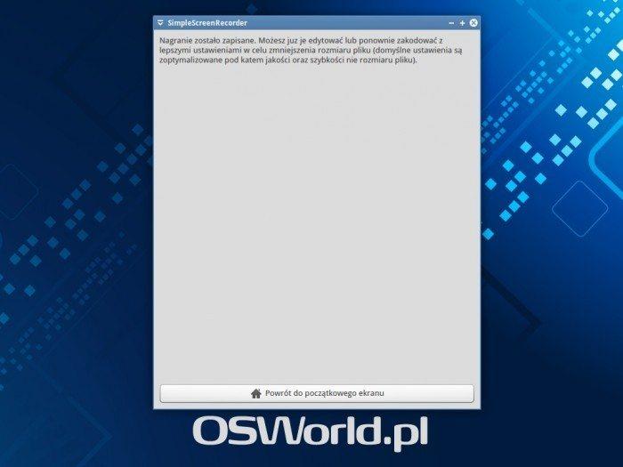 SimpleScreenRecorder 0.3.0 - ekran 5