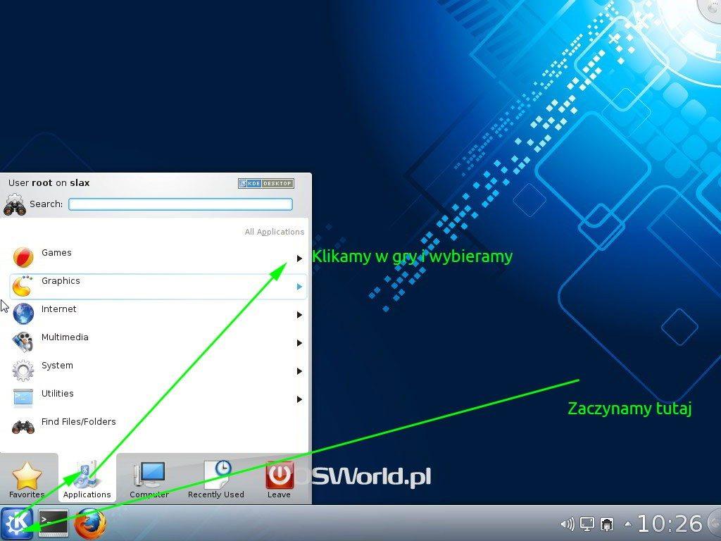 Slax 7 Beta - KDE