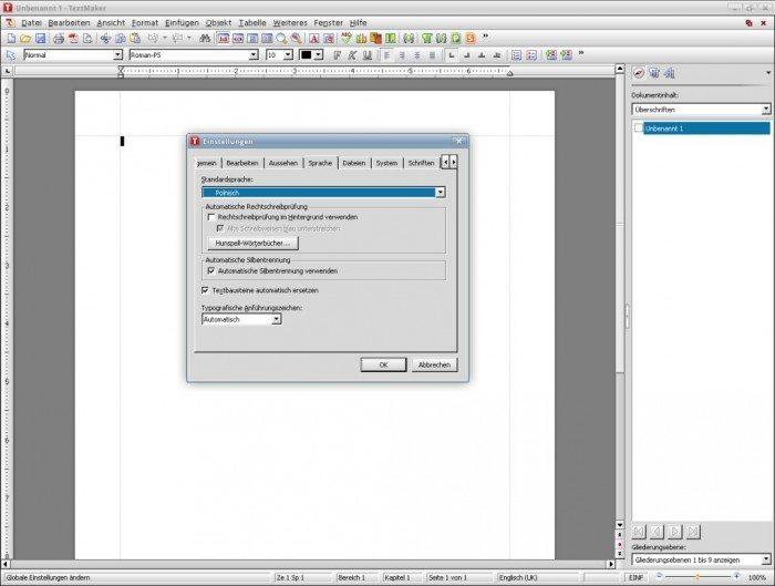 SoftMaker Office 2012 - drogi pakiet z kiepskim tłumaczeniem - tłumaczenie