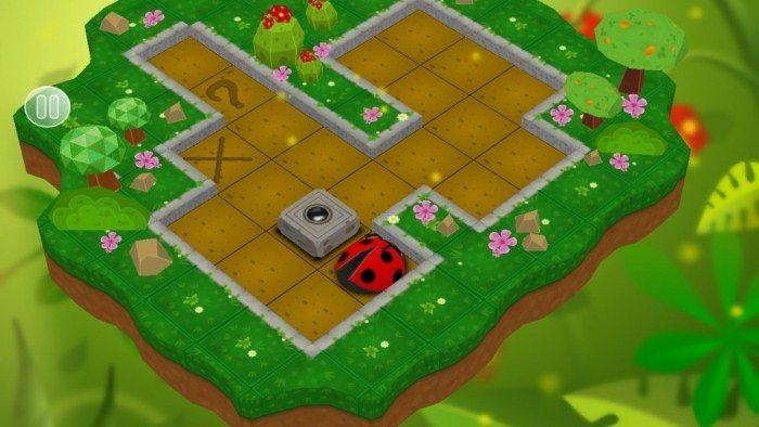 Sokoban Garden 3D - rozgrywka