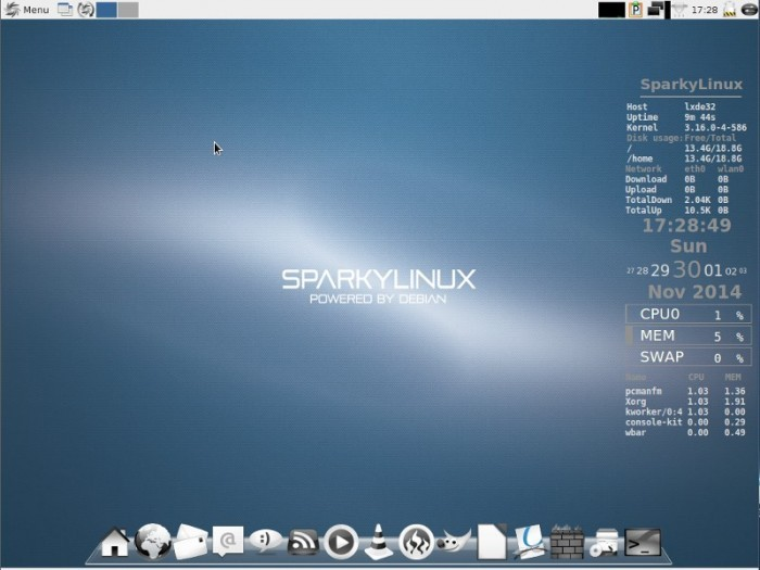 SparkyLinux 3.6 LXDE