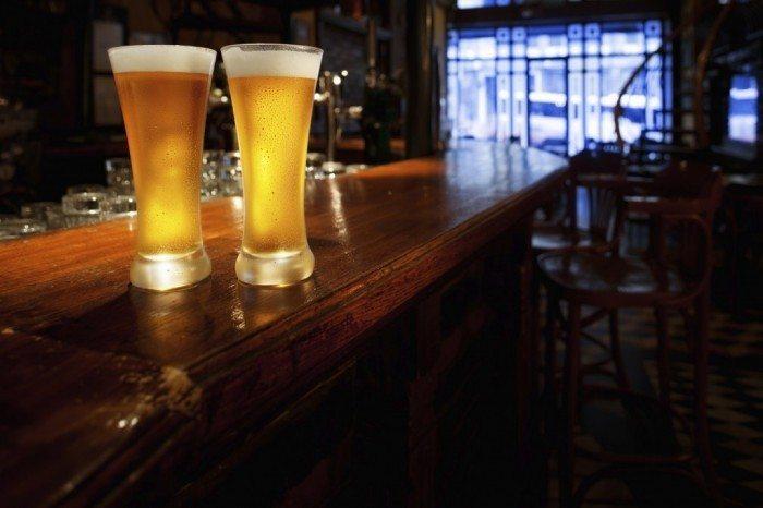Spotkanie OSWorld - piwo i bar