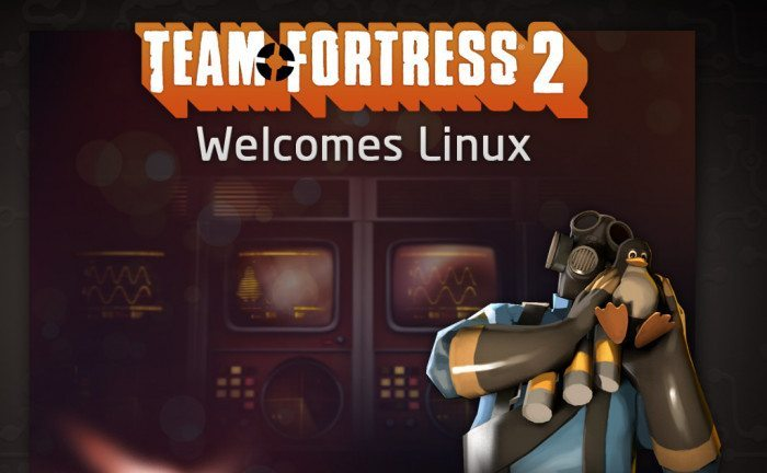 Steam dla Linuksa - Team Fortress kocha Linuksa