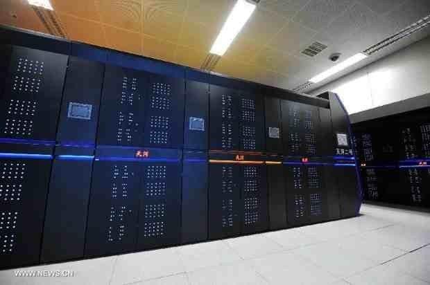 Superkomputer-Tianhe-2 - kilka klastrów