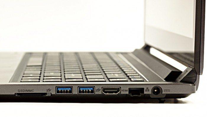 System76 Darter UltraThin - porty prawa strona