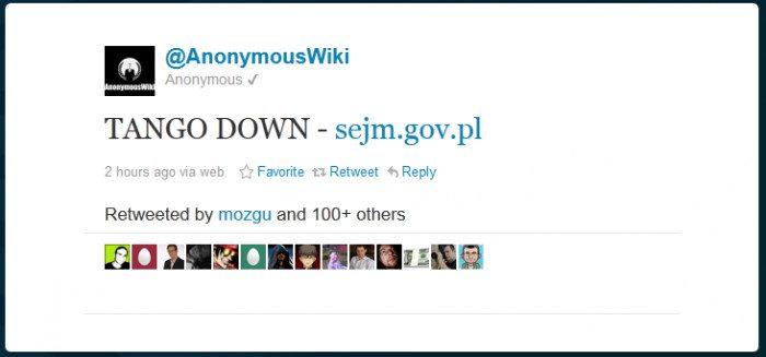 TANGO DOWN - sejm.gov.pl