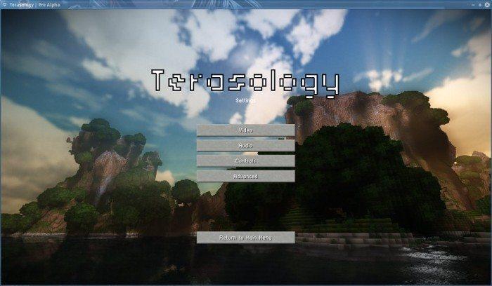 Terasology - Pre Alpha - opcje