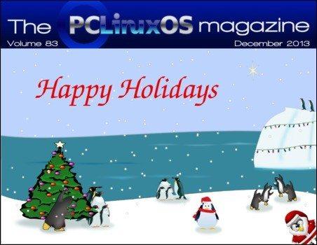 The PCLinuxOS Magazine – grudzień 2013 - okładka