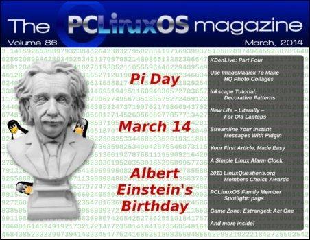 The PCLinuxOS Magazine – marzec 2014 - okładka