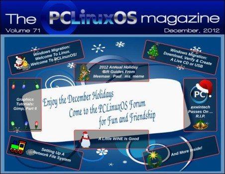 The PCLinuxOS Magazine - grudzień 2012