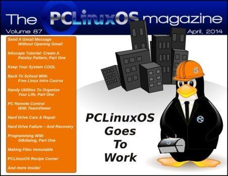 The PCLinuxOS Magazine - kwiecień 2014 - okładka