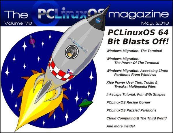 The PCLinuxOS Magazine - maj 2013