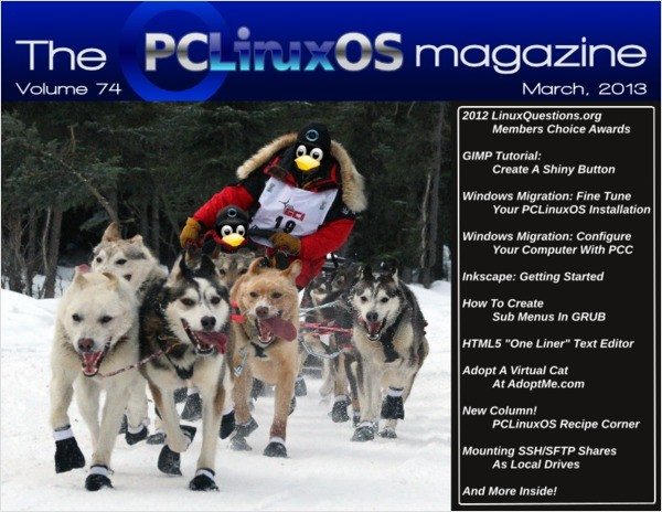 The PCLinuxOS Magazine - marzec 2013