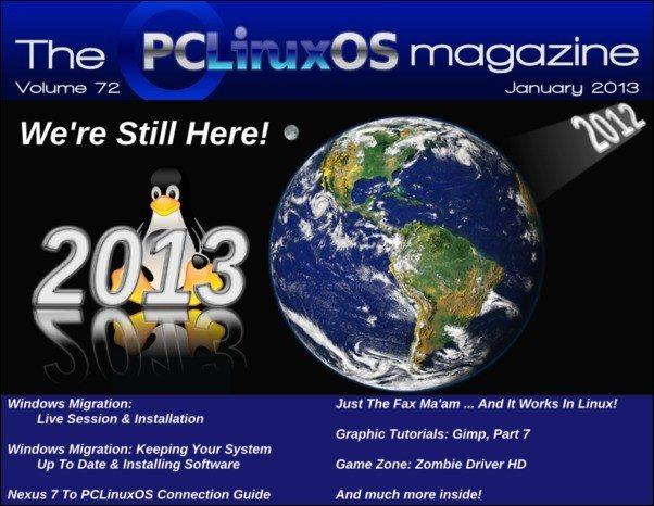 The PCLinuxOS Magazine - styczeń 2013