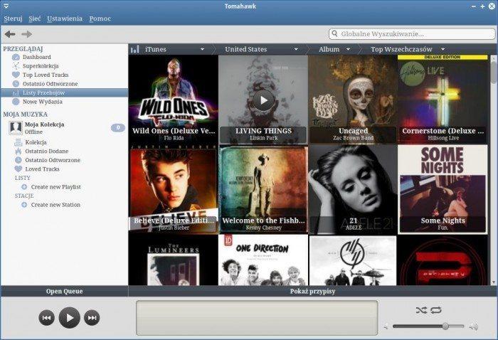 Tomahawk 0.5 - nowy widok podglądu albumów