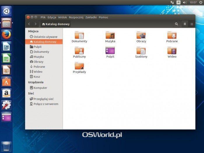 Ubuntu 14.04 LTS - lokalne menu