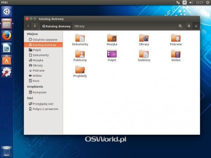 Ubuntu 14.10 - katalog domowy