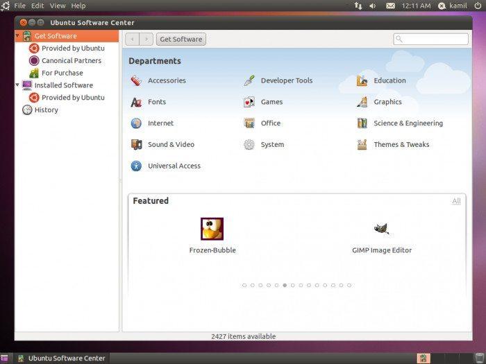 Ubuntu 11.04 Alpha 2