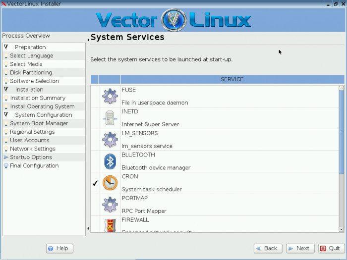 VectorLinux 7.0 SOHO - instalacja