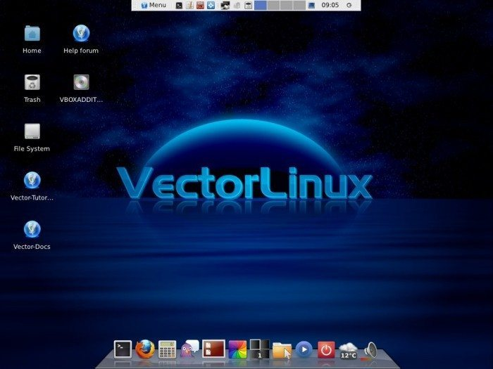 VectorLinux 7.0 SOHO - pulpit