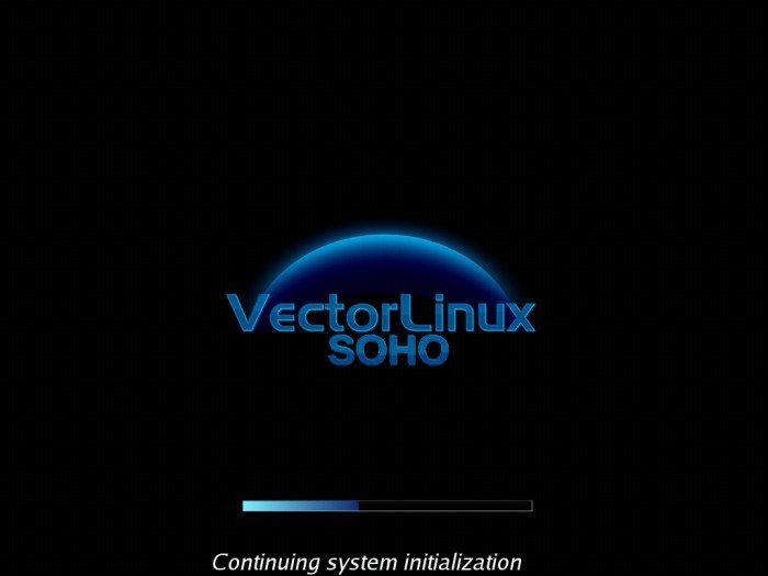 VectorLinux 7.0 SOHO - uruchamianie systemu