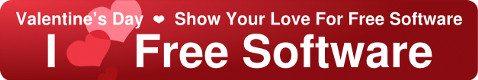Walentynki - I Love Free Software
