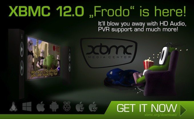 XBMC 12.0 Frodo