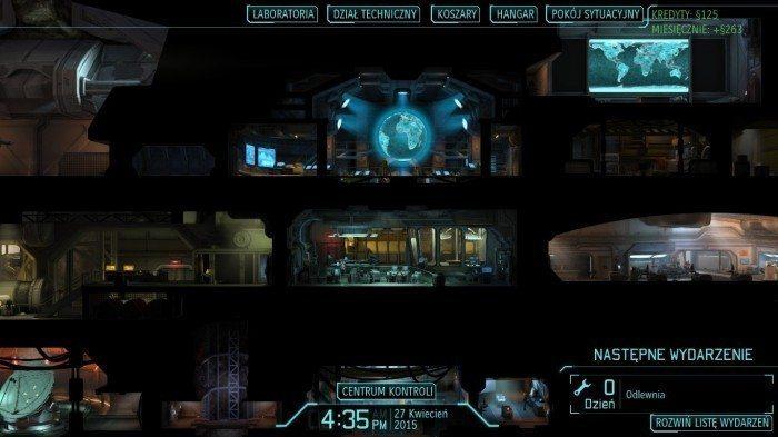 XCOM Enemy Unknown – widok na fragment podziemnej bazy