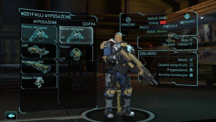 XCOM Enemy Unknown - profil żołnierza