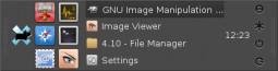 Xfce 4.10 - panel z wieloma wierszami