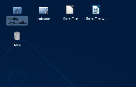 Xfce - usuwanie obramowań wokół napisów - bez obramowania