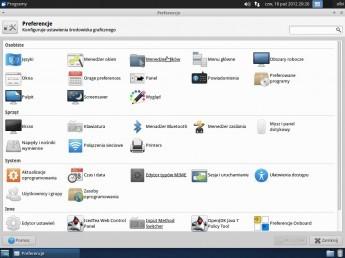 Xubuntu 12.10 - Preferencje
