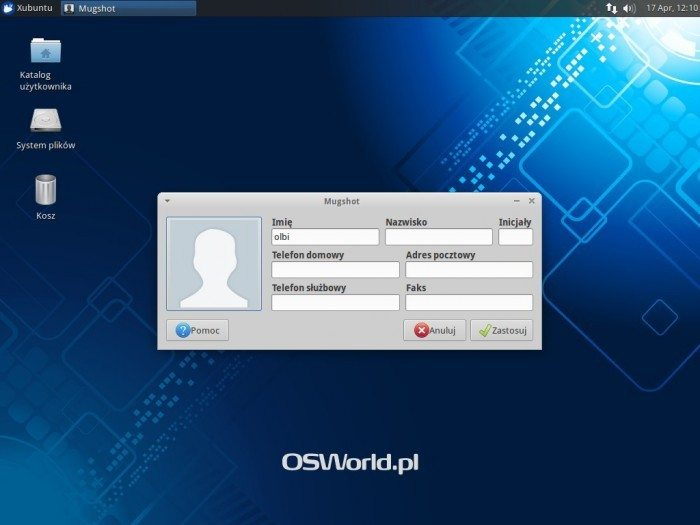 Xubuntu 14.04 - Mugshot