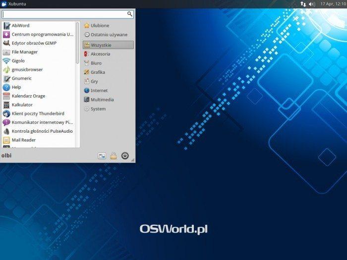 Xubuntu 14.04 - Whisker Menu 1