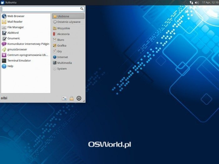 Xubuntu 14.04 - Whisker Menu