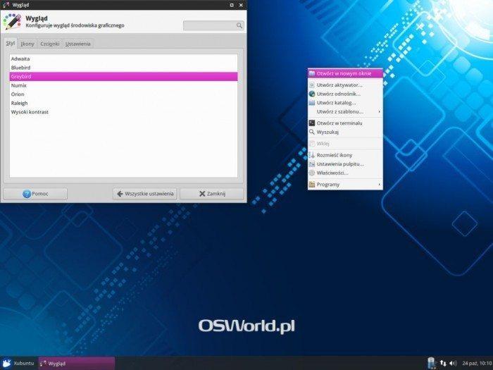 Xubuntu 14.10 - Wygląd 1