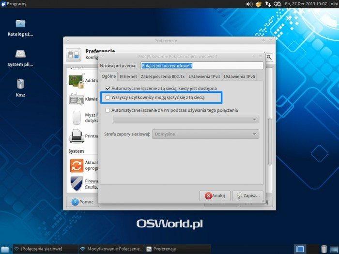 Xubuntu i NetworkManager z przechowywaniem haseł